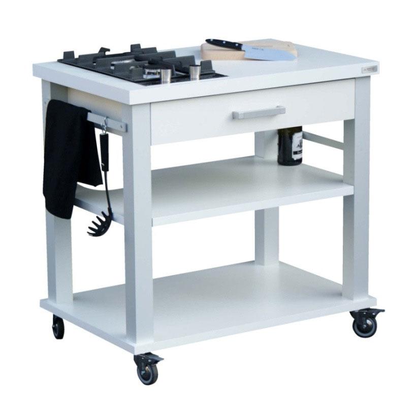 Carrelli cucina cucina vista bianco mercury - Elenco utensili cucina ...